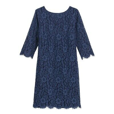 La Redoute Collections Womens Lace Shift Dress With V-Back