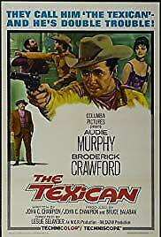 """Audie Murphy """" THE TEXICAN""""   DVD"""