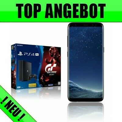 Sony PlayStation 4 Pro GTS + Samsung Galaxy S8 mit Vertrag