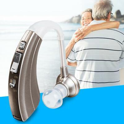 Rechargeable Digital Hearing Aid Severe Loss Invisible BTE Ear Aids-VHP-220