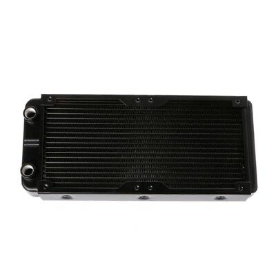 240mm 18 Tubes G1/4 Computer Radiator Water Cooling Aluminum For CPU Heat Sink