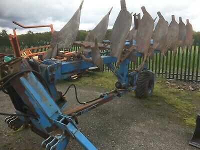 Lemken 6 furrow revesible semi-mounted plough tractor plow