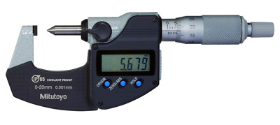 Mitutoyo 342-271-30 Digital Crimp Height Micrometer IP65 0-20mm
