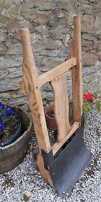 antique sack trolley, display, plant stand, decorative, towel rail, french