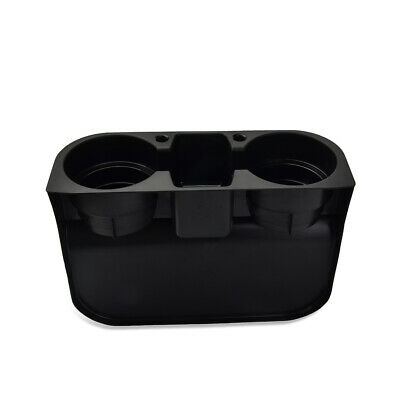 1x 3 in 1 Car Cleanse Seat Seam Wedge Cup Holder Food Drink Bottle Mount Storage