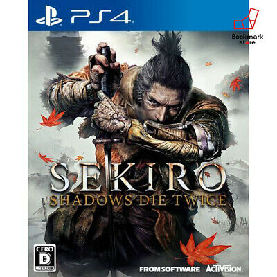 NEW PS4 SEKIRO: SHADOWS DIE TWICE JAPAN PlayStation 4 import Japan F/S Tracking