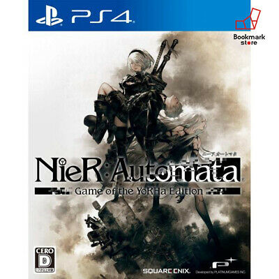 NEW PS4 NieR Automata Game of the YoRHa Edition import Japan F/S Tracking