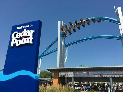 CEDAR POINT - General Admissions - (4X) FOUR Single Day E-Tickets! - FAST -