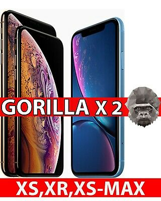 Premium Gorilla Tempered Glass Screen Protector for New iPhone XS-Max XR XS X