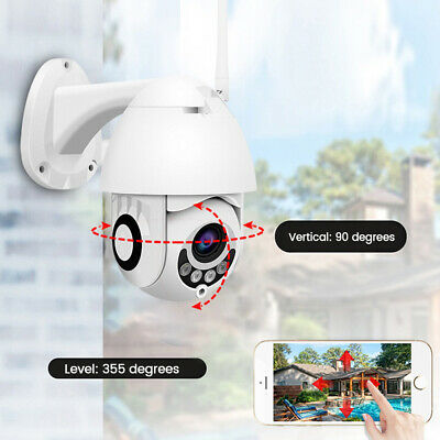 Telecamera Ptz Zoom 1080P Hd Full Color Esterna Ip Camera Motorizzata Ir Wifi It