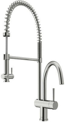 GIAGNI POMPA STAINLESS Steel 1-Handle Pull-Down Kitchen ...