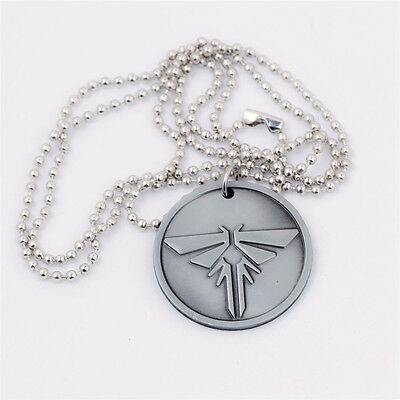 The Last of Us Left Behind Metal Charms Chain Pendant Necklace Cosplay Gift New