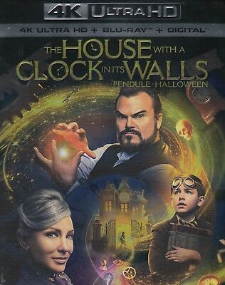 The House With A Clock In Its Walls (4K Ultra Hd/Bluray)(2 Disc Set)(Used)