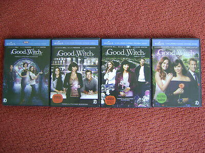 GOOD WITCH DVD Complete TV Series 1-4  (seasons 1,2,3,4 complete) NEW REGION 1