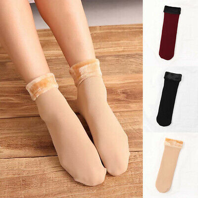 Women Lady Winter Casual Short Thick Tube Sock Soft and Warm Floor Sock Hot Sale