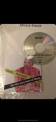 CD Promo Mylène Farmer Moby Remix