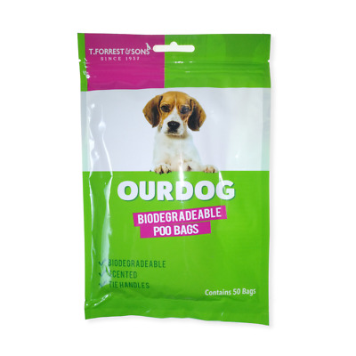T. Forrest & Sons Doggy Poo Bags 100x or 1000x