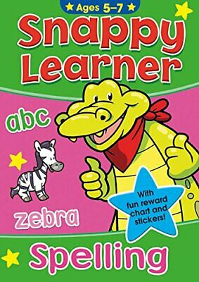 Snappy Learner Childrens Learning Educational Books Soft Cover 5 - 7 Years - Spe
