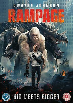 Rampage DVD. Sealed with free delivery.