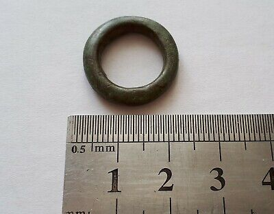 Celtic Ring Money Celts Ancient Coin bronze original antique nice europe history
