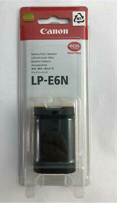 NEW Genuine Canon LP-E6N Lithium-Ion Battery Pack SEALED