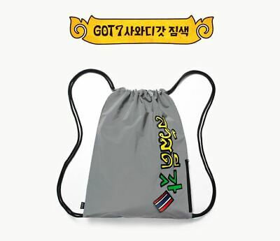 Got7 Got 7 Real Thai Official Goods Gym Sack Gymsack + Photocard New