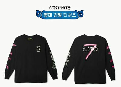 Got7 Got 7 Real Thai Official Goods Youngjae Long Sleeve T-Shirts + Photocard