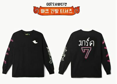 Got7 Got 7 Real Thai Official Goods Mark Long Sleeve T-Shirts + Photocard