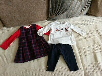 3ed76b919 Designer Baby Girls Outfit. Ted baker and Jasper conran. 3-6 months