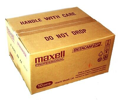 Maxell Professional B-60ML BETACAM SP Professional Video Tape (Case of 10)