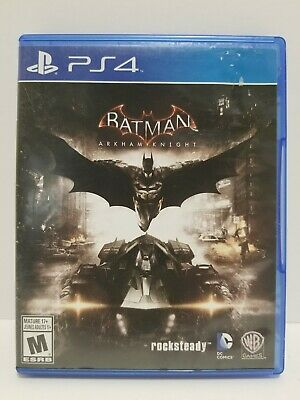 Batman Arkham Knight: PS4 videogame - NO SCRATCHES - tested + Warranty