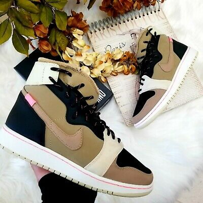 5cac8f2b407c38 Air Jordan 1 Rebel XX Women s Shoes size 6.5 Parachute Beige Style BQ6481  200