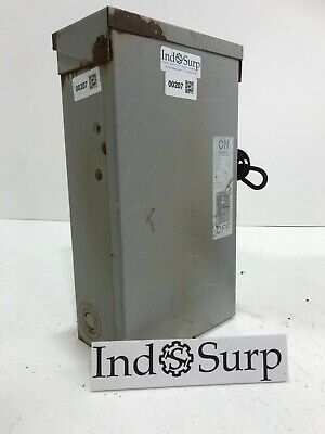 ITE Enclosed Switch Heavy Duty 60 Amp 600 Volt 3 Phase Cat# FR352