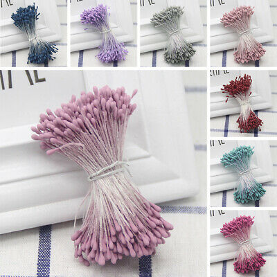 Double Tip Flower Stamens Artificial Floral Craft Wedding Card Scrapbook DIY New