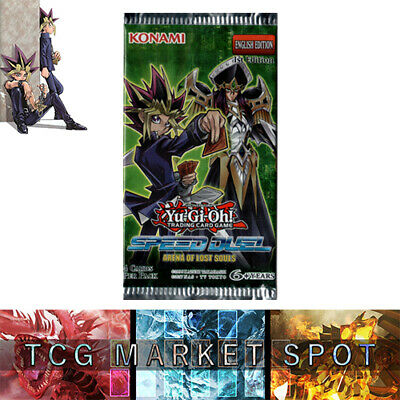 Yugioh! - NEW! Speed Duel: Arena Of Lost Souls Booster Pack Sealed From New BOX