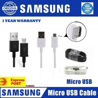 GENUINE Micro USB FAST Data Charging Cable For Samsung Galaxy S7 EDGE S4-S6 HTC