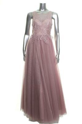 a469d01d8 New Juniors Say Yes to The Prom Long Embellished halter Prom Dress Size 5