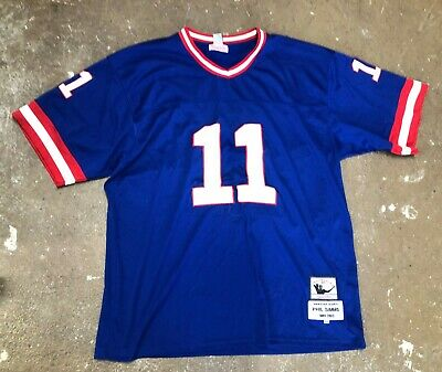 8c608ea315a New York Giants Phil Simms Mitchell & Ness Royal Blue Throwback Jersey  60/60/