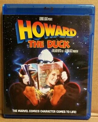 Howard The Duck Blu-Ray Featuring Lea Thompson