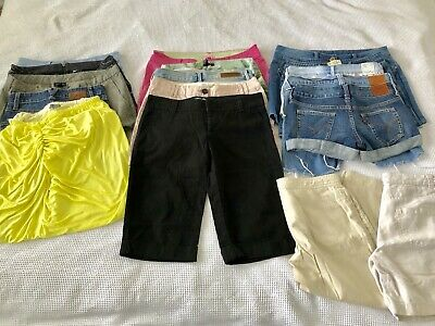 RESELLER BUNDLE Box WOMENS SHORTS & SKIRTS Mixed Lot BULK BUY