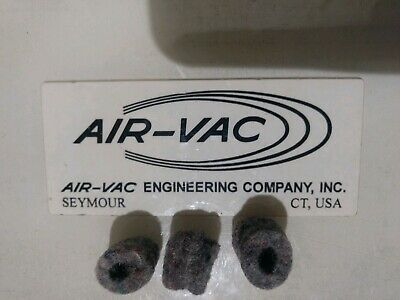 Air-Vac DRS F1AE Felt Filter Elements (Qty. 3) used w/ Scavenger Solder Removal