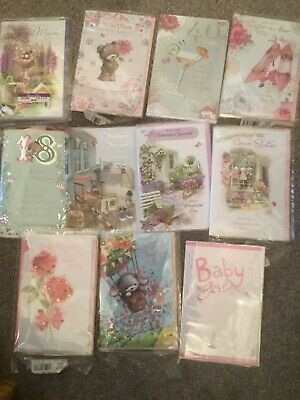 1000 Greetings cards assorted