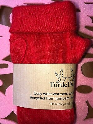 TURTLE DOVES PURE Cashmere Rainbow Scarf Brand New  - £32 00