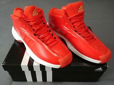 db143e152f6d Mens ADIDAS CRAZY 1 KOBE Bryant Basketball Shoes size 12  Infrared white gold new