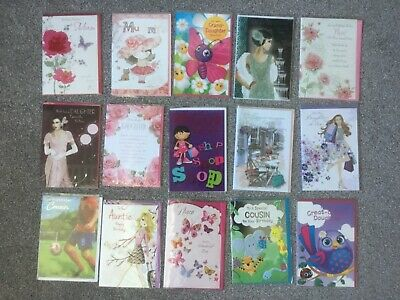 250 Greetings cards assorted code 50