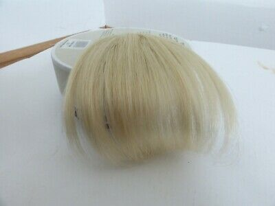 NEW Hershesons The Rock Chick Clip in Winge wig fringe blond