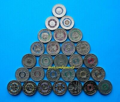 $2 Two Dollar Olympic Possum Magic Commonwealth Games & Commemorative Coins = 28
