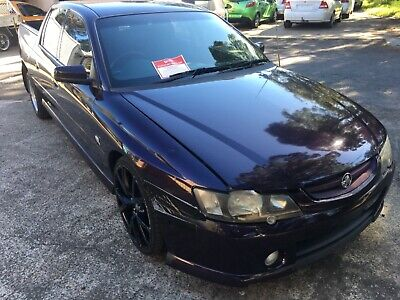 Holden Vy Ss Crewman Commodore Ls1 5.7 Litre 6 Speed Manual Statutory Write Off