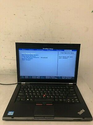 LENOVO THINKPAD T430 INTEL CORE i5 2 6GHz 4GB RAM 14 1