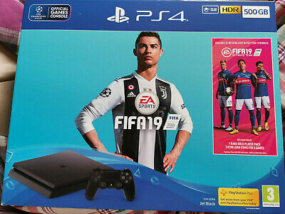 SONY PlayStation PS4 with FIFA 19 - 500 GB